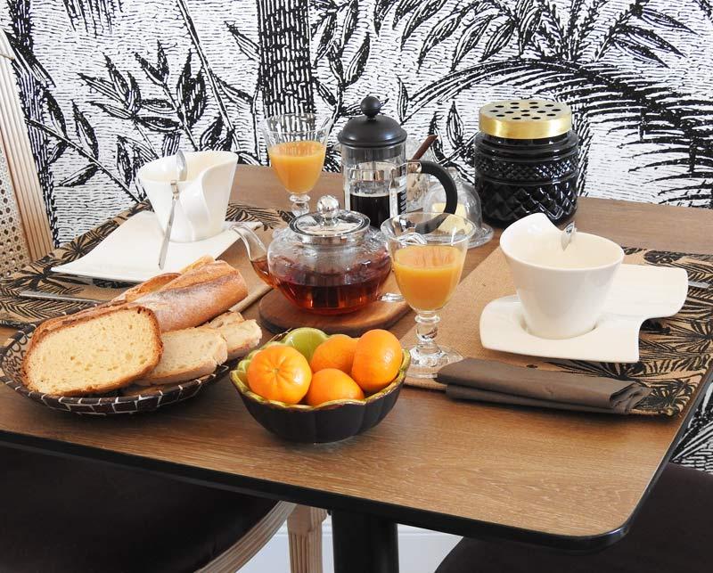 La Villa Madura vous accueille pour le petit déjeuner tous les matin à partir de 8h