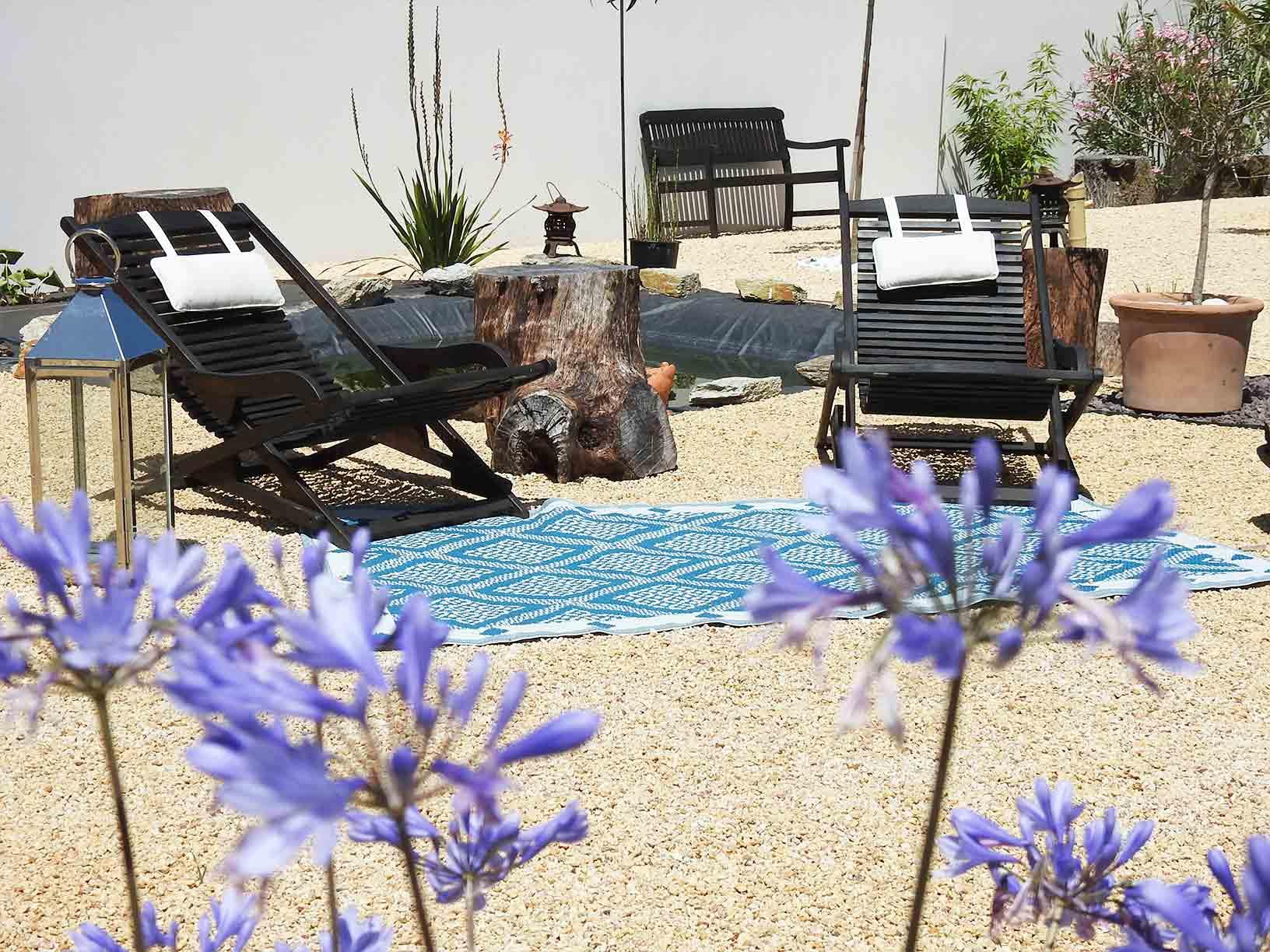 La Villa Madura vous propose des espaces de détente en extérieur